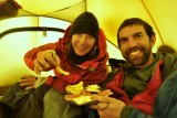 "Tras la cumbre nada mejor que una picadita!!! After the climb, nothing better then a ""picadita"""